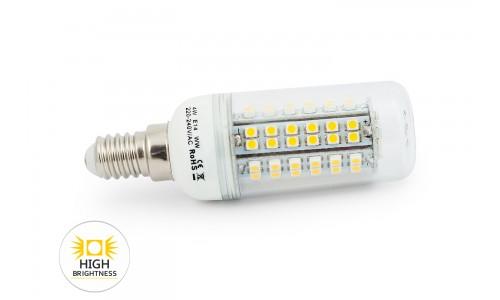 LED ŽÁROVKA E14 4W 80 SMD 3528H TEPLÁ